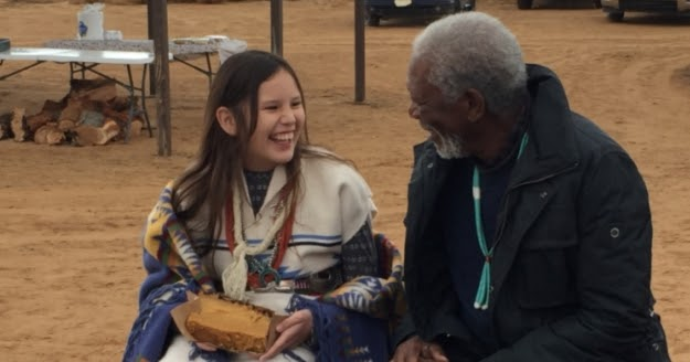 White Wolf : Morgan Freeman Asks Navajo About The Meaning ...