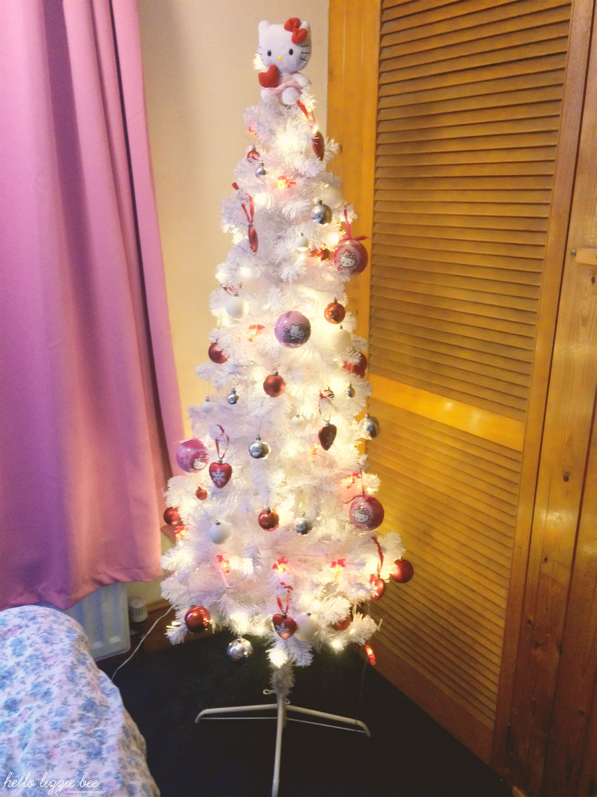 hello kitty, sanrio, christmas tree, kawaii christmas tree
