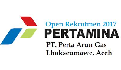 Rekrutmen PT. Perta Arun Gas anak Perusahaan Pertamina Gas 2017