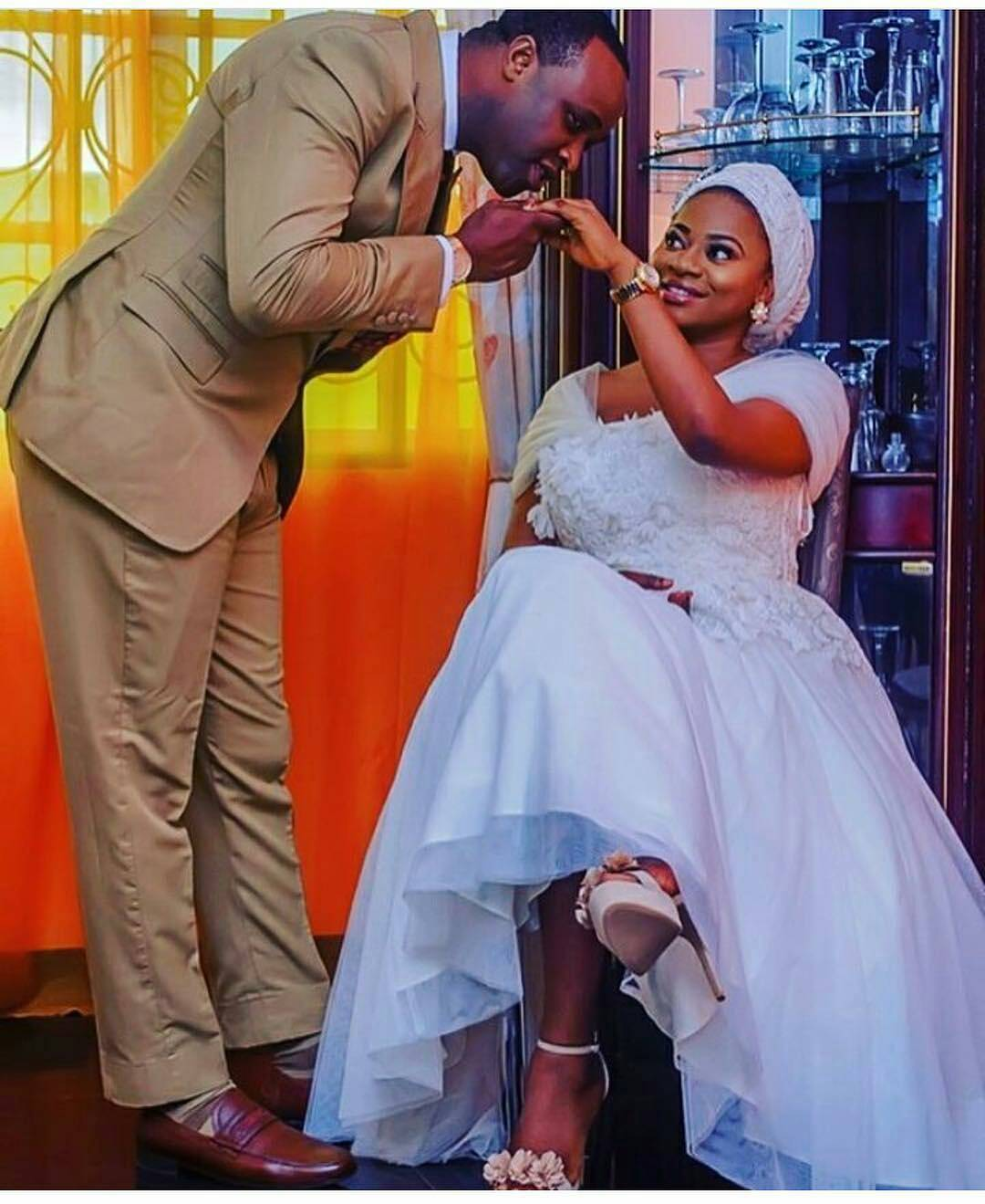 Image result for femi adebayo and wife