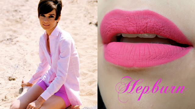 batom liquido Felicitta looks Hepburn