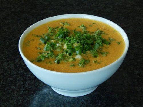 supa crema raw de dovleac