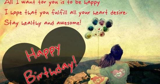 Wonderful Birthday Wishes For Your Boyfriend