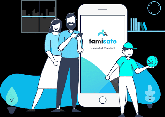 FamiSafe the best application for parental Control
