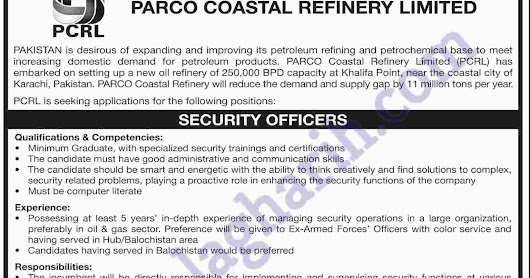 Job in Coastal Refinery limited