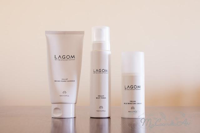 Rutina facial con la cosmética coreana de Lagom