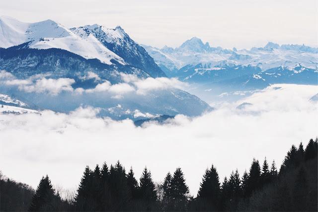 photographie montagne le mont blanc