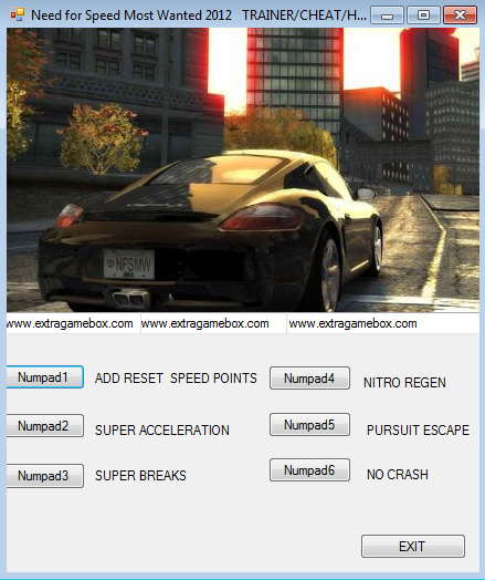 Download cheat nfs most wanted
