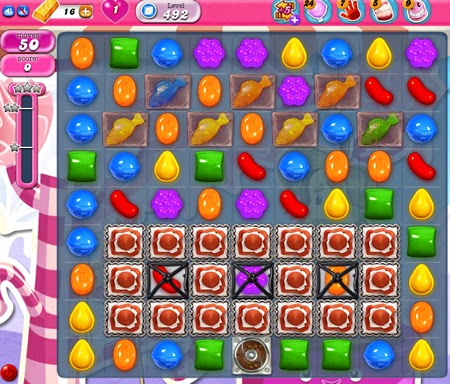 Candy Crush Saga 492