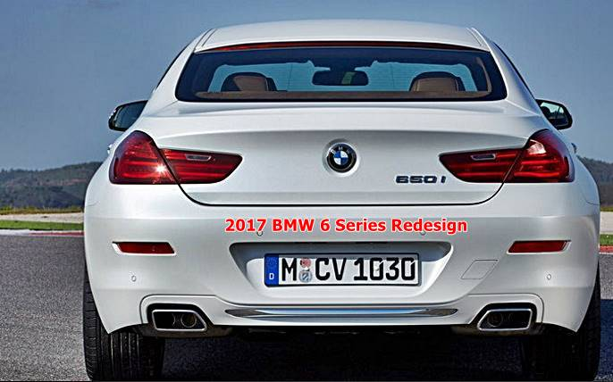 2017 bmw 6 series redesign auto bmw review. Black Bedroom Furniture Sets. Home Design Ideas