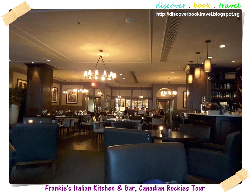 Restaurant review frankie s italian kitchen and bar for Italian kitchen menu vancouver