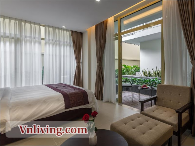 Serviced apartment for rent 1 bedrooms furnished in Thao Dien District 2