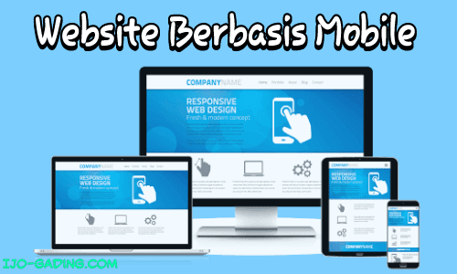 website berbasis mobile