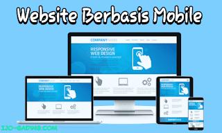 website berbasis mobile