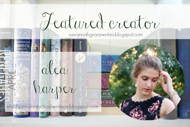 Featured Creator - April // Alea Harper [post title image]
