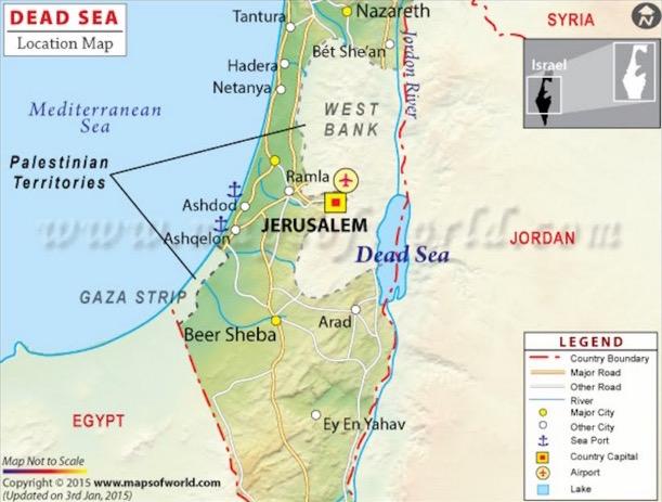 Larangan Melancong ke Tempat yang Dimurkai Allah Seperti Laut Mati di Jordan