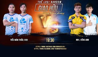 2vs2 Random - Hồng Anh, No1 vs. BiBi, TMT - 23/10/2020