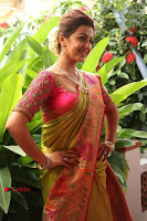 Actress Nikki Galrani Latest Pos in Saree Neruppu Da Movie Audio Launch  0019.jpg