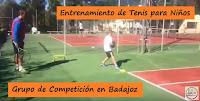 Entrenamiento de Tenis para Grupos de Competición en Badajoz