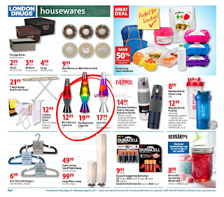 London Drugs Flyer Back To School Essentials valid August 25 - 30, 2017