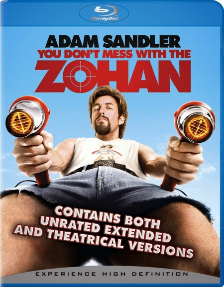 You Dont Mess With The Zohan 2008 UNRATED Hindi Dubbed Dual BRRip 350mb