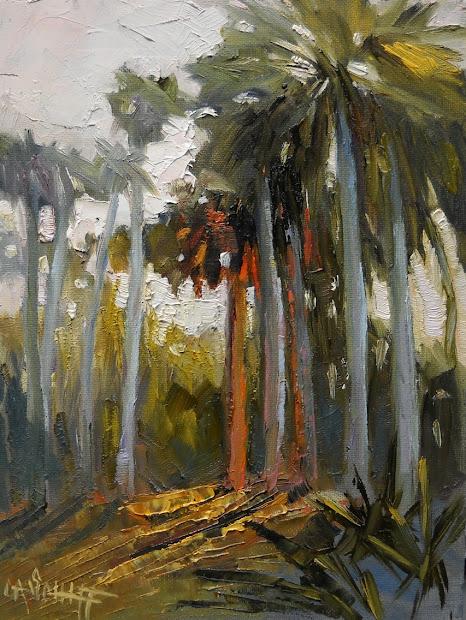 Florida Landscape Oil Paintings