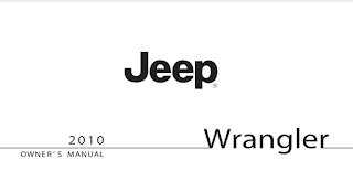 2010 JEEP WRANGLER UNLIMITED OWNERS MANUAL