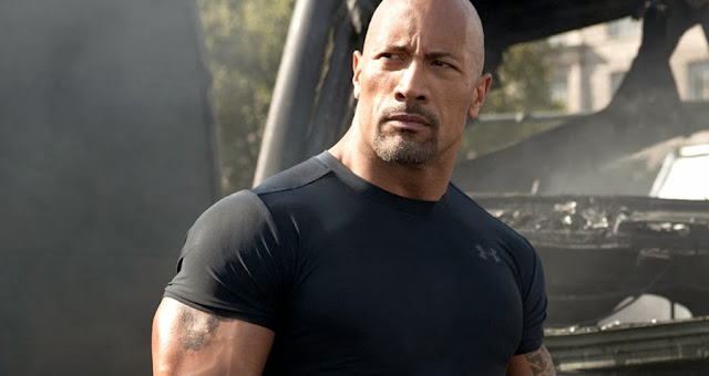 Dwayne Johnson în Fast And Furious 6