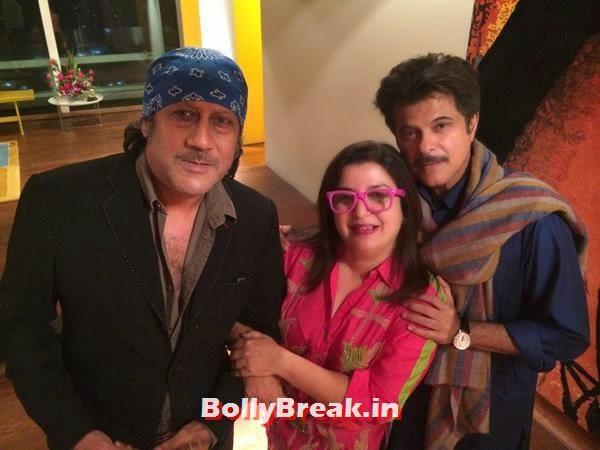 Jackie Shroff, Farah Khan and Anil Kapoor, Bollywood Eid Celebration Pics 2014