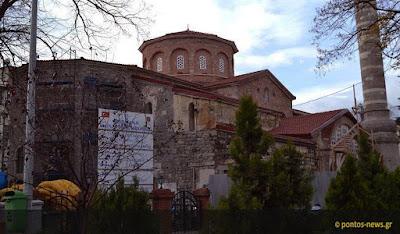 Η αναστήλωση της Παναγίας Χρυσοκεφάλου στην Τραπεζούντα