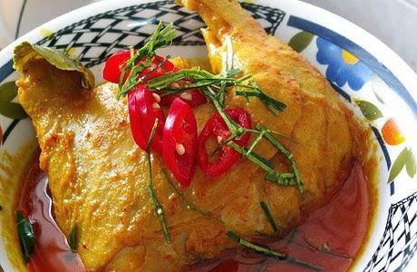 Resep Opor Ayam Pedas Enak