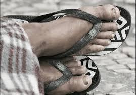 Venha ser um lavador de pés sujos!