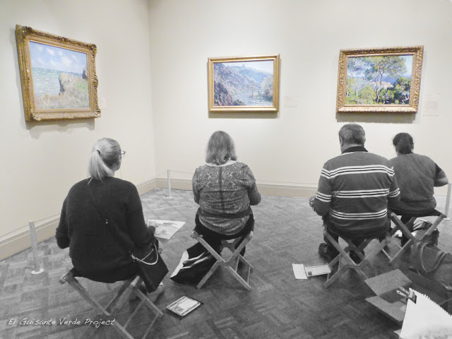 Monet y sus copistas en el Art Institute de Chicago, por El Guisante Verde Project