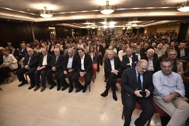 Αλ. Τσίπρας: Οι προοδευτικές και αριστερές δυνάμεις πρέπει να δουλέψουμε από κοινού για μια αλλαγή στην Ευρώπη (vid)