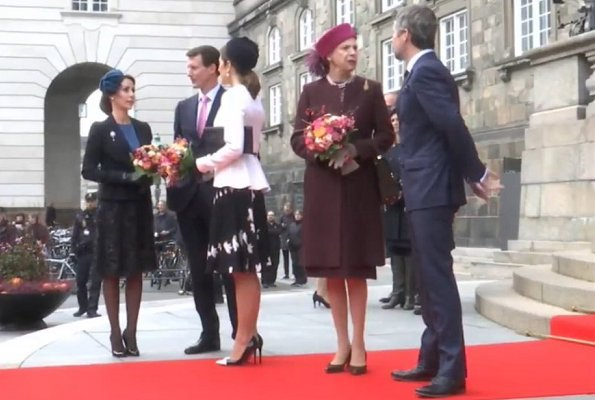 Danish royal family attended ceremony of anniversary of the Reformation