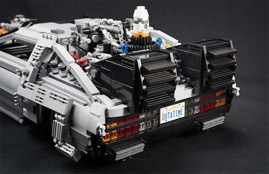 LEGO MOC Back to the future Delorean