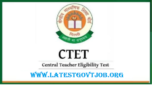 Latest Government Jobs: CTET 2018 - Eligibility Criteria, Selection Procedure, Apply Online @ ctet.nic.in