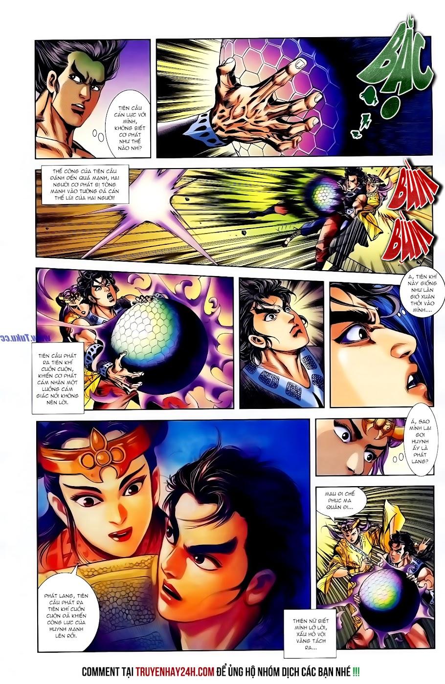 Cơ Phát Khai Chu Bản chapter 117 trang 22