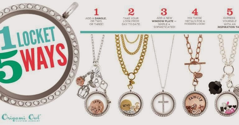 Origami Owl One Locket 5 Ways Origami Owl At Storied Charms