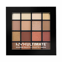 NYX Cosmetics Ultimate Shadow Palette Warm Neutrals Brand New