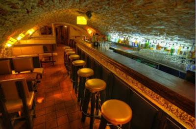 Classic Eastern European Cellar Bar. This one is Jo's Bar in Prague.