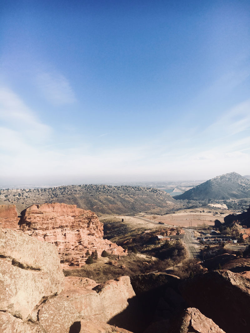 Views from Red Rocks