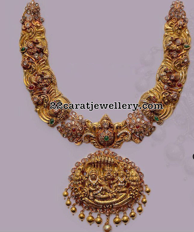 Lord Krishna Peacock Necklace