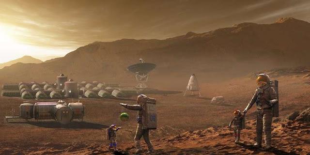 الحياة-على-المريخ