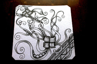 Mak-Rah-Mee zentangle