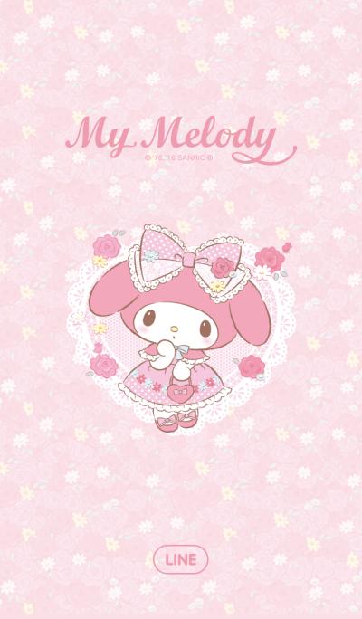 My Melody สวนดอกไม้
