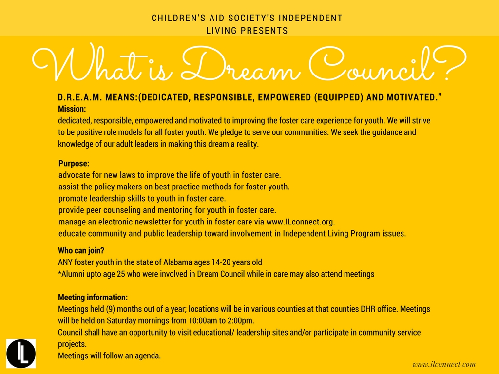 Every Wondered What Dream Council Actually Is? Well Here Is A Break Down  With All Of He Answers To Your Questions! We Are Focusing Our Dream Council
