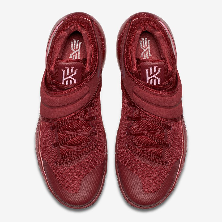 check out 6d84a 63acd ... so I hope Kyrie would wear this in the Playoffs. The Red Velvet colorway  of Nike Kyrie II will release in the States tomorrow, April 28, 2016 for   120.