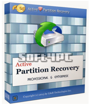Active Partition Recovery Professional 14.0.0 + Crack