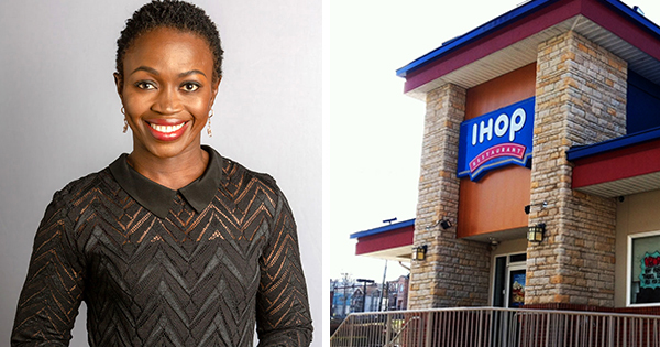 Adenah Bayoh, owner of three IHOP restaurants in New Jersey